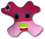 Large Amiba Monster (No More Slump) Travel Pillow
