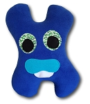 Medium Amiba Monster Headrest Travel Pillow