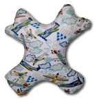 Large Amiba Monster (No More Slump) Travel Pillow - Pattern Collection