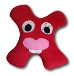 Small Amiba Monster Stuffed Toy Pillow